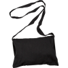 Medieval Canvas Shoulder Bag - Black