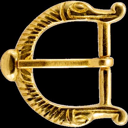 Viking Dragon Belt Buckle