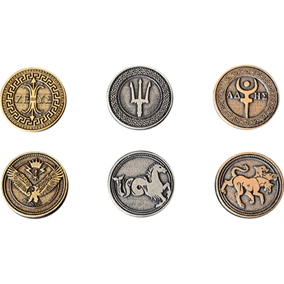 Greek Mythology Coin Set