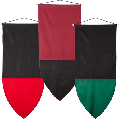 Plain Medieval Banner - Large