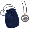 Viking Raven Pewter Necklace