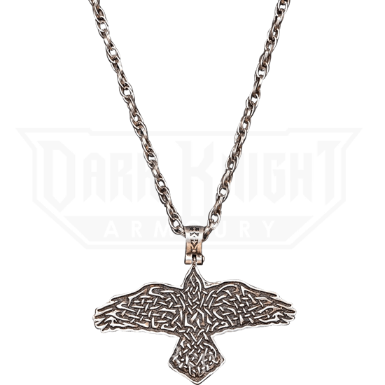 Odins Raven Necklace