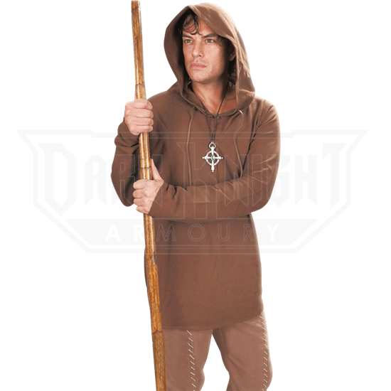 Bandit Hooded Shirt - Brown