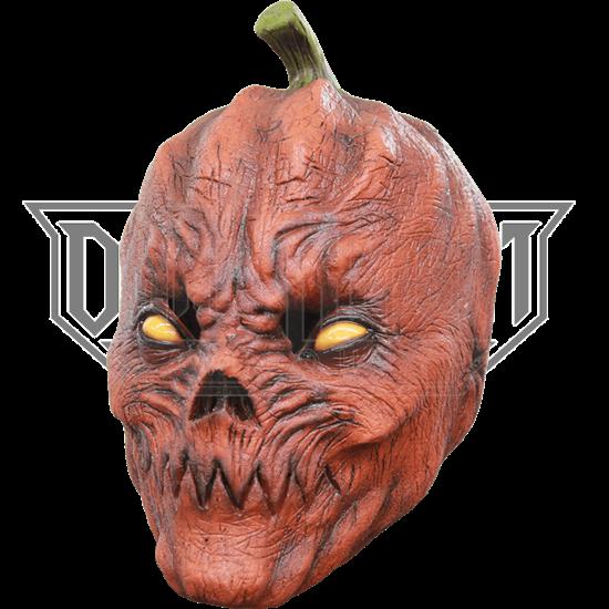 Pumpkin Teeth Mask