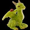 Dragon with Ladybug Statue