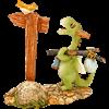 Scaley the Explorer Dragon Statue