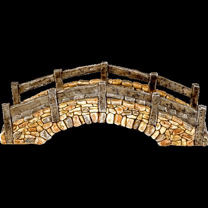 Cobblestone Fantasy Bridge