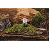 Garden Gnome with Hatchet Statue