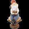 Garden Gnome on Chair Statue