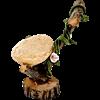 Mini Wood and Stone Chair