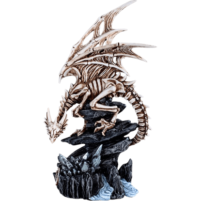 Skeleton Dragon Statue