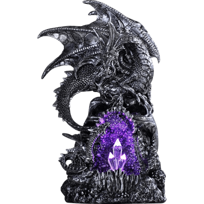 Amethyst Cave Dragon Statue