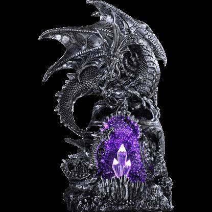 Amethyst Cave Dragon Statue