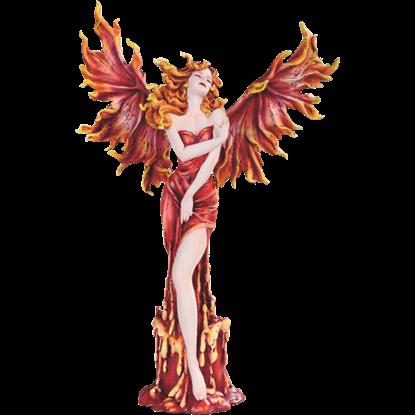 Escaping Phoenix Fairy Statue