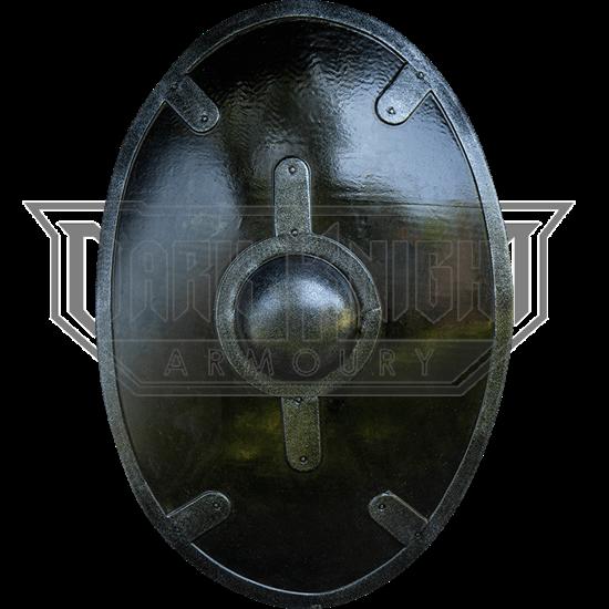 Black Auxiliary LARP Shield