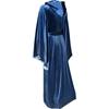 Hooded Velvet Robe