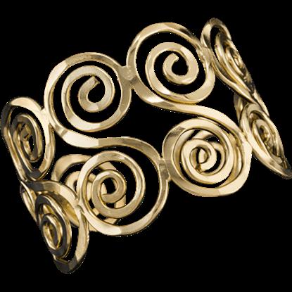 Devona Roman Cuff Bracelet