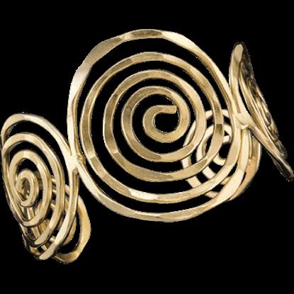 Agota Swirl Viking Bracelet