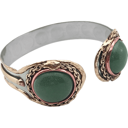Alika Medieval Cuff Bracelet