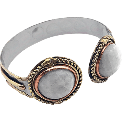 Gweyr Medieval Cuff Bracelet