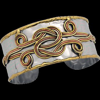 Knotwork Cuff Bracelet