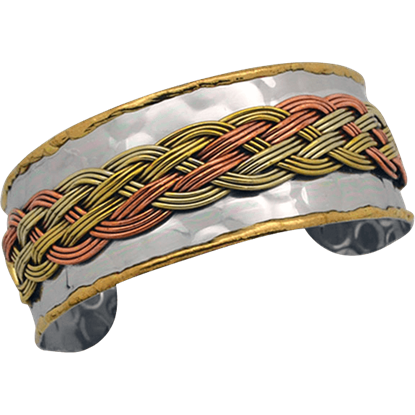 Viking Braid Cuff Bracelet