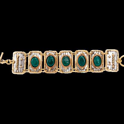 Glyn Medieval Linked Bracelet