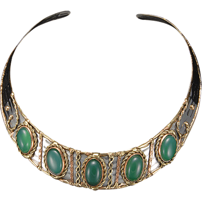 Juris Roman Choker Necklace