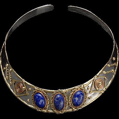 Moirai Greek Choker Necklace