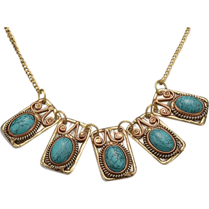 Hathor Fantasy Linked Necklace