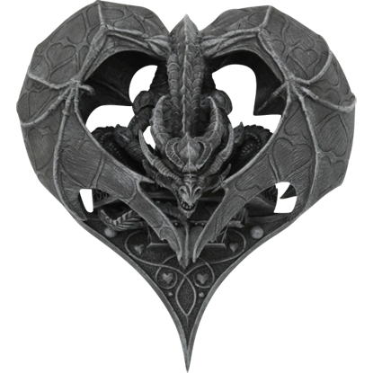 Dragon Heart Wall Plaque