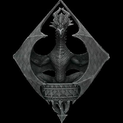 Dragon Diamond Wall Plaque