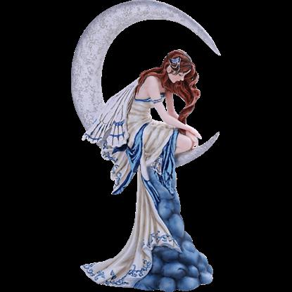 Memory Moon Fairy Statue