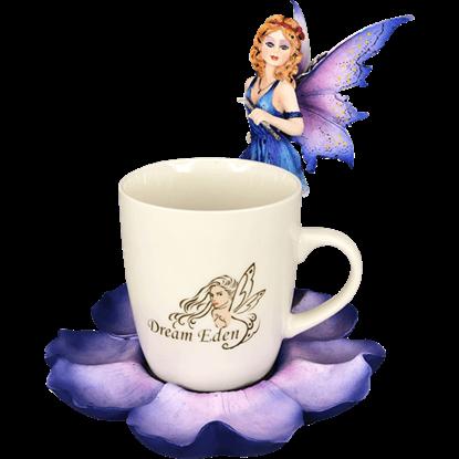 Purple Fairy and Teacup
