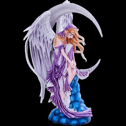 Angelic Moon Dreamer Statue