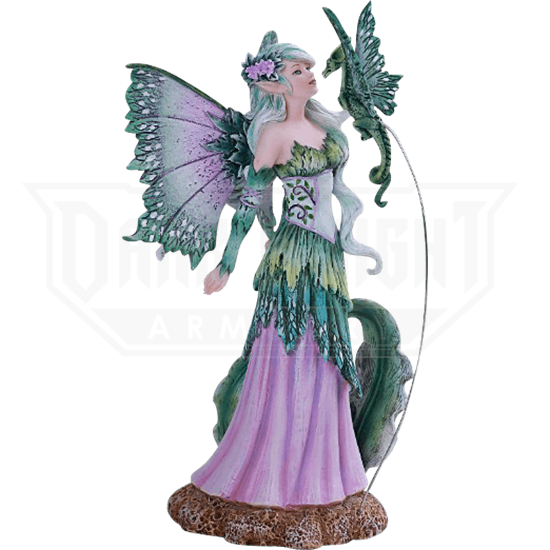 Discovery Fairy and Dragon Statue