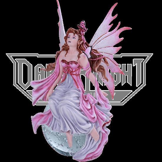 Daybreak Fairy Crystal Ball Statue