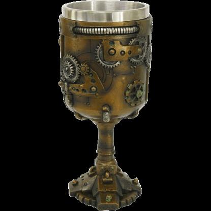 Geared Steampunk Goblet