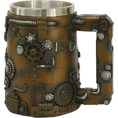 Geared Steampunk Tankard