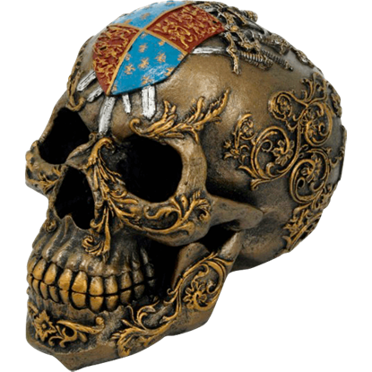Medieval Crest Skull