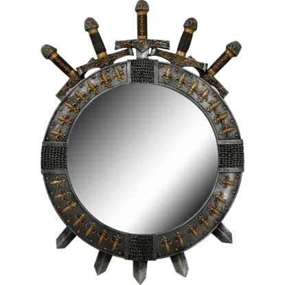 French Sword Mirror