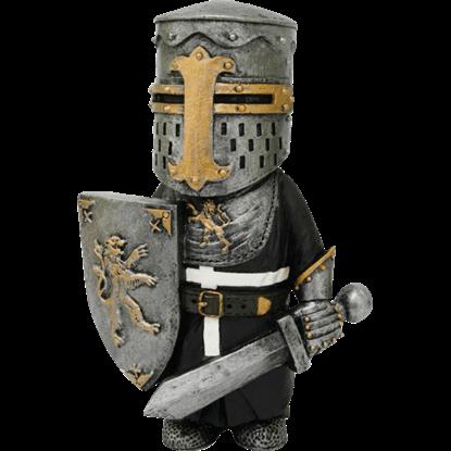 Medieval Swordsman Mini Statue