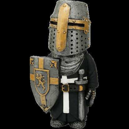 Knight at Guard Mini Statue