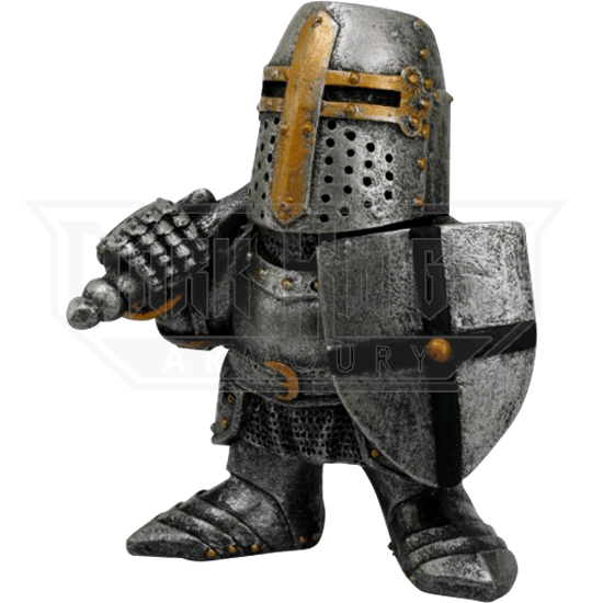 Relaxed Knight Mini Statue