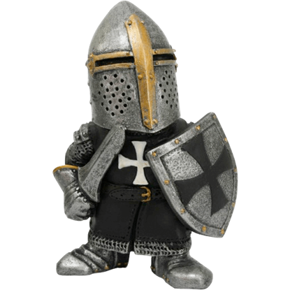 Crusader Knight Mini Statue