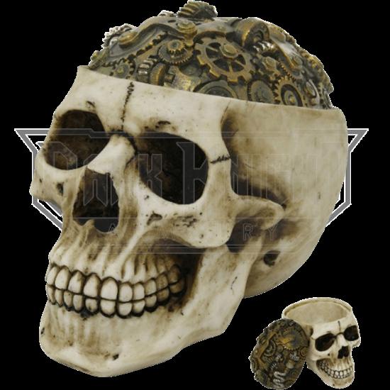 Steampunk Gearhead Box