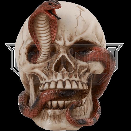 Cobra Skull Statue