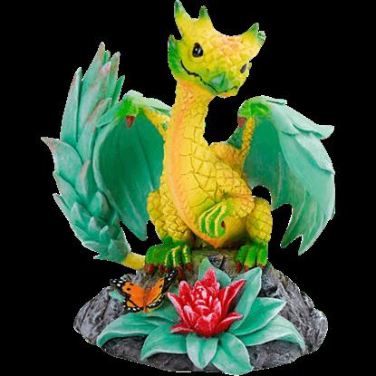 Pineapple Dragon Statue