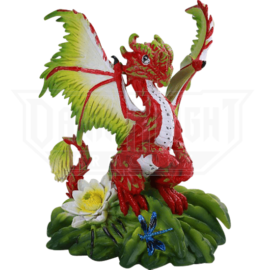 Dragonfruit Dragon Statue