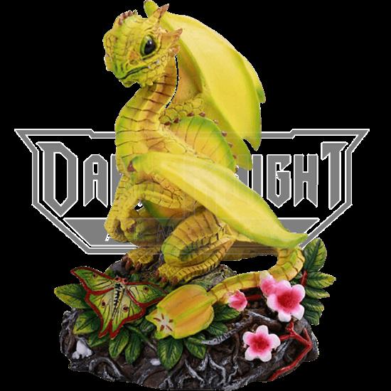 Starfruit Dragon Statue